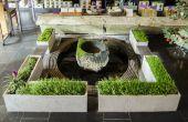 ShapeCrete:: Hypertufa / béton planteurs pour boutique de thé Teance