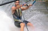 Apprenez comment ski nautique pieds nus