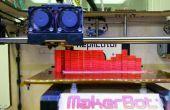 Horizons d'imprimés 3D basé sur entrée musicale