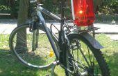 Vélo rétro-éclairage - un grand