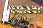 Contrôler un grand déclencheur linéaire avec Arduino
