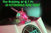 Le bâtiment de Q.T.Pi : un Robot autonome Sumo