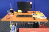 Ranger votre bureau en utilisant seulement votre papeterie