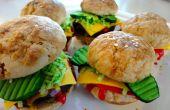 Hamburger/poulet Slider Cookies