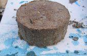 Briquettes de combustible Bio, compresser la pâte à papier et les sciures en briques de carburant.