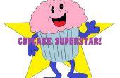 Super Star Cupcake arbre