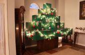 Arbre de Noël grandeur nature Minecraft