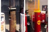 Restaurer un années 90 de pompe à essence