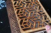 Boîte de découpe Laser géométriques DIY