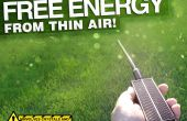 Énergie libre de l'Air mince !