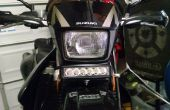 Suzuki DRZ 400 moto LED Light Bar Mount