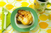 Comment : Fried oeufs sur Toast frit