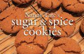 De Nanny Tate sucre et épice Cookies
