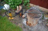 Rapide et facile jardin/barbecue soufflet