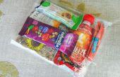 Compagnie aérienne compact approuvé Snack Pack