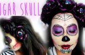 Sugar Skull serre-tête et maquillage
