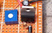 Un régulateur de tension réglable de câblage
