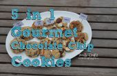 Biscuits aux brisures de chocolat 5-en-1 ! Smores, Sweet & salé, Cookies ' n Cream & tortues !