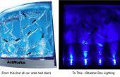 Réutiliser des LEDs pour l'éclairage de la boîte d'ombre