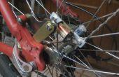 Lumières de roue de vélo dynamo sans contact