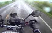 La sécurité des motocyclistes : Conduite sous la pluie