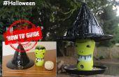Faire une mangeoire à oiseaux Halloween Witches Hat