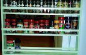 Caché d'étagère à épices