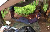 Durable, léger et compactable paracord hamac