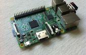 Raspberry Pi B + Guide de démarrage rapide