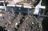 Planter des étiquettes de rasoirs jetables