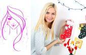 Bas bricolage / Christmas Stockings tutoriel