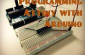 Programme ATtiny jetons avec Arduino
