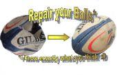 Réparer une boule endommagée et mettre à niveau à une balle de pratique pour la force et l'endurance de formation