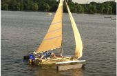 Comment construire un bateau à voile qui est beaucoup moins cher que ceux de détail.