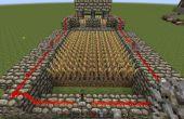 Ferme de Minecraft auto-récolte blé