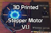3D imprimés Stepper Motor V1.1