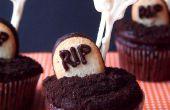 Squelette cimetière Cupcakes