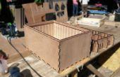 Base multi-modulaire Frames pour Cargo Bikes - empilable laser étanche coupe boîtes