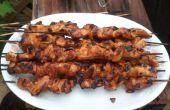 Filipino poulet BBQ sur un bâton