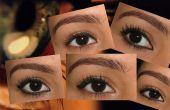 Atteindre une forme d'oeil différent à l'aide de traceur pour les yeux...