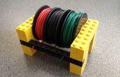 Garder votre ordre des bobines de fil avec Legos