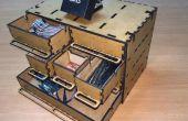Faites votre propre tiroir de rangement fonctionne avec la reconnaissance vocale (1Sheeld - Arduino)