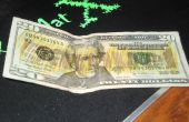 Hidden Message sur nous factures que seulement faux argent détection de marqueurs peut détecter
