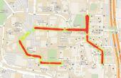 Cartographie de Streetlight éclairement