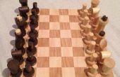 Jeu d'échecs dans des chutes bricolage