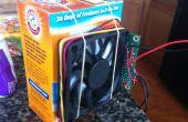 Construire une boîte de litière chat fan avec Arduino