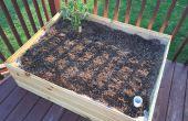 Void / boîte de planteur d'Irrigation