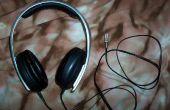 Remplacement de la prise d'une paire d'écouteurs