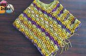 Poncho Winsome – Crochet patron gratuit & tutoriels vidéo