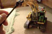 Comment faire votre grue motorisé de Lego à pouvoir utiliser différents accessoires